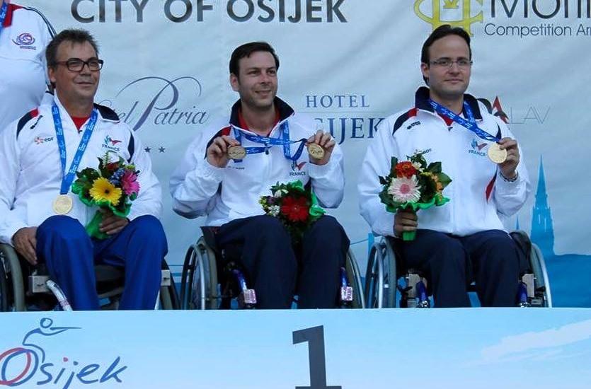 Coupe du Monde Osijek 2015 (Croatie) 2ème victoire par équipe