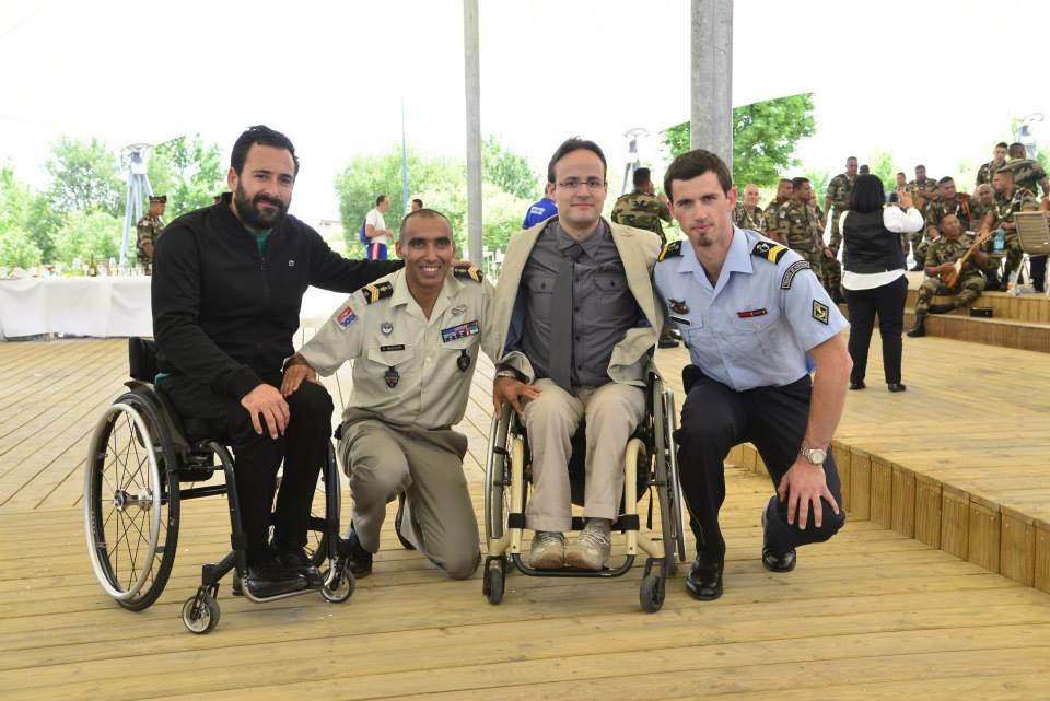 Rencontres militaires blessures et sports 2018